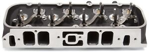 Edelbrock 61559 Rpm Marine Cylinder Head Fits Big Block Chevy 454 Rectangular