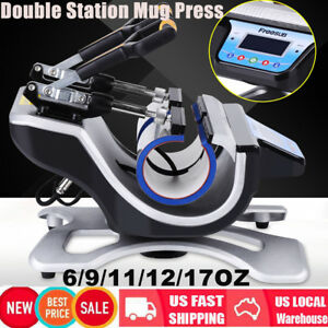Transfer Sublimation Cup Coffee Mug Heat Press Printing Machine Digital St210