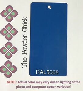Ral 5005 49 43190 Signal Blue Powder Coating Paint 5lb Bag New