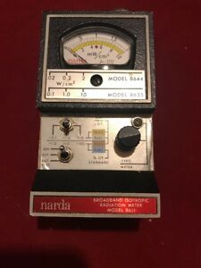 Narda 8611 Broadband Isotropic Radiation Meter