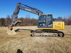 John Deere 120d Excavator With Hydraulic Thumb