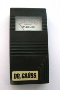 Gauss Emf Meter the Emf Detective Used For Collectors