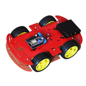 4wd Diy Rc Smart Robot Car Chassis Kit Nodemcu Motor Drive Board For Arduino