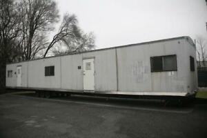 Mobile Office Building System On Three Axle Trailer