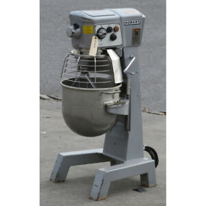 Hobart 30 Quart D300t Mixer 115v With Bowl Guard Timer Used Great Condition