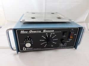 Bellco Glass Bench Top Mini orbital Shaker Variable Speed W Timer 7744 08096