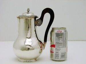 French Sterling Silver Coffee Tea Pot Hallmark Jean Pierre Bibron C1820