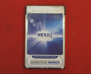 Nexiq Pro Link Meritor Wabco Abs Brake Diagnostic Card 801014 Tractor