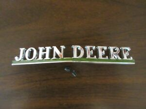 John Deere 40 50 60 70 80 R Front Plate Medallion Usa Made