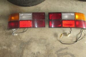 Porsche 944 924 Both Tail Lights Lamps Left And Right Assemblies Oem Factory