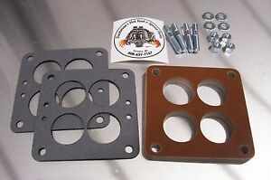 Fits Small Wcfb Carter Phenolic Carb Insulator Spacer Holley Teapot Riser 1 2