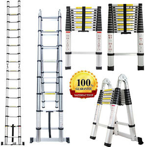 Telescopic Loft Ladder Extendable Collapsible Step Ladders Securing Bolt 3 2m 5m