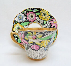 Vintage Rosina England Cup And Saucer