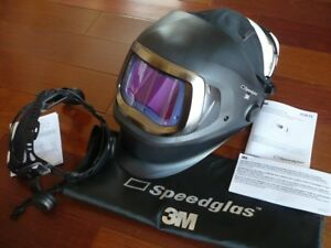 3m Speedglas 9100xxfx Darkening Welding Helmet W side Windows hornell Speedglass