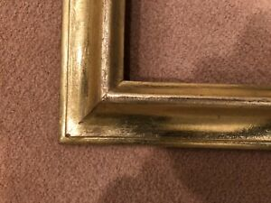 Antique Mid Century 14x12 Gold Gilt Possibly Gold Leaf Picture Frame B