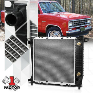 Aluminum Core Radiator Oe Replacement For 85 94 Ford mazda Ranger b2300 Dpi 1062