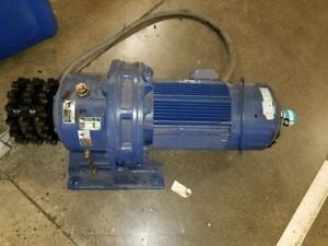 Sumitomo Sm cyclo Gear Motor W Variable Speed Drive Brake