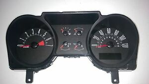 2007 Ford Mustang Speedometer Instrument Gauge Cluster 7r33 10849 Eb And Ec