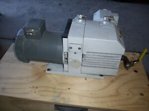 Leybold Trivac D16b Rotary Vane Dual Stage Mechanical Vacuum Pump Af16 25 Filter