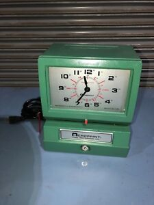 Acroprint 150rr4 Heavy Duty Automatic Time Recorder