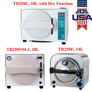14l 18l Dental Autoclave Medical Steam Sterilizer Sterilization drying Function