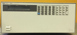 Hp Agilent 6050a 6 Slot 1800 W Gpib Dc Electronic Load Mainframe Tested