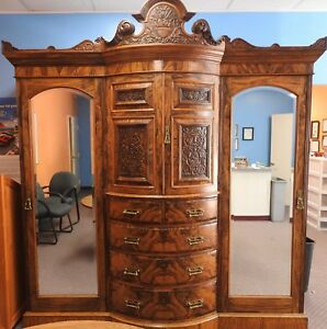 Maple And Company Wardrobe Armoire Hobbs Co Lever London Paris Buenos Aires