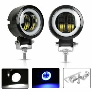 2x 3inch 40w Cree Led Work Light Cube Pods Spot Driving Lamp Offroad Suv Atv 4wd