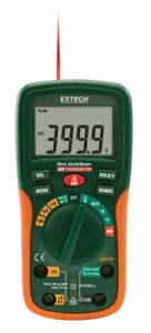 Extech Ex230 Mini 12 Function Digital Multimeter With Ir Thermometer