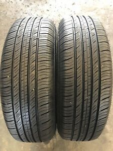 Set Of 2 Used Tires P215 70r15 Primewell Valera Touring Ii
