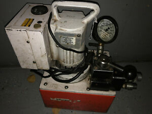 Spx Power Team Pe554 Electric Portable Pump For Double Acting Cylinders