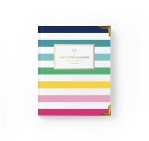 Nib Emily Ley Weekly 2019 Simplified Planner Thin Happy Stripe Sold Out