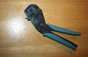Amp 58078 3 Hand Crimping Tool W 90391 3 Die Head usa Made