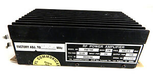 Tpl Communications 806 870 Mhz Rf Power Amplifier Pa8 1aa 13 8v