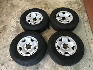 2018 Toyota Tacoma Oem Steel Wheels 16x7