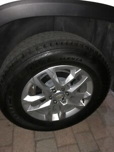 18 Inch Chevy Traverse 2018 18 Oem Oe Factory Original And Tires