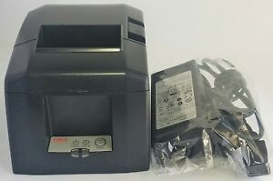 Star Micronics Tsp650 Ethernet Receipt Printer With Ps60a 24d Ac Power Adapter