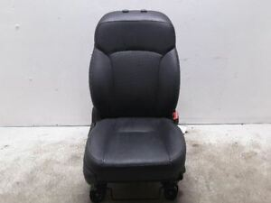 Forester 2016 Right Front Seat Manual Leather Black Oem