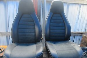 Porsche 944 924 Pair Front Original Seats Left Right Factory Oem Sport