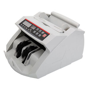 Practical Self Examination Uv Currency Money Bill Counting Machine Cash Register