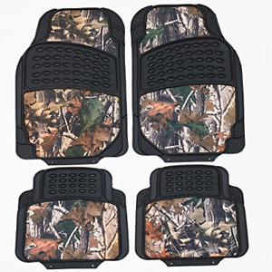 Tanyoo Durable Camouflage Car Floor Mats All Weather Protection Rubber Heavy 4