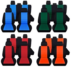 Truck Seat Covers 2019 Dodge Ram Front Rear Custom Fit Personalize Color Design