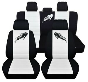 Truck Seat Covers 2019 Dodge Ram Front Rear Customize Logo Perfect Fit Abf