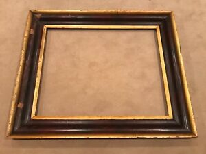 Antique 30x24 19th Century Gold American Sully Large Cove Picture Frame