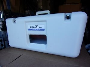 Riso Risograph Ztype Z type Red Duplicator Color Drum