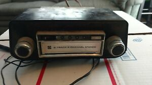 Vintage Panasonic Car Stereo 8 Track Player 4 Channel