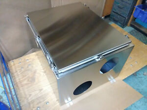 Stainless Steel 30 x24 x16 Enclosure With Cutouts
