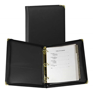 Samsill 15250 Classic Collection Executive Presentation 3 Ring Binder Zipper