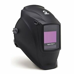 Pro Miller Digital Elite Black Welding Helmet With Clearlight Lens