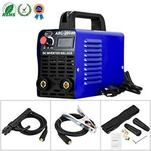 New Welding Machine Arc 200 Igbt Inverter Welder Ac Dc 110v 200 Amp Mini Welders